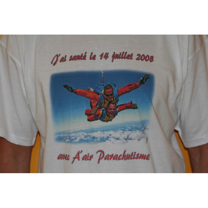 Option tee-shirt personnalisé.